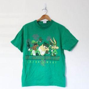 Vintage Looney Tunes St Patricks Day T Shirt